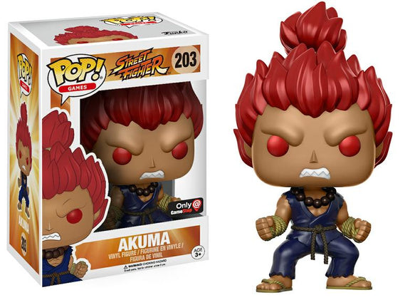 Street Fighter - Exclusive Akuma POP! Vinyl Figure