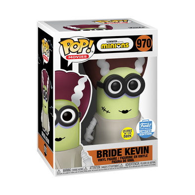 Minions - Bride Kevin Glow-In-The-Dark Exclusive Pop! Vinyl Figure