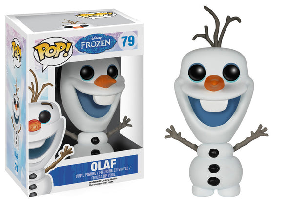 Disney Frozen Glitter Olaf Exclusive Pop! Vinyl Figure