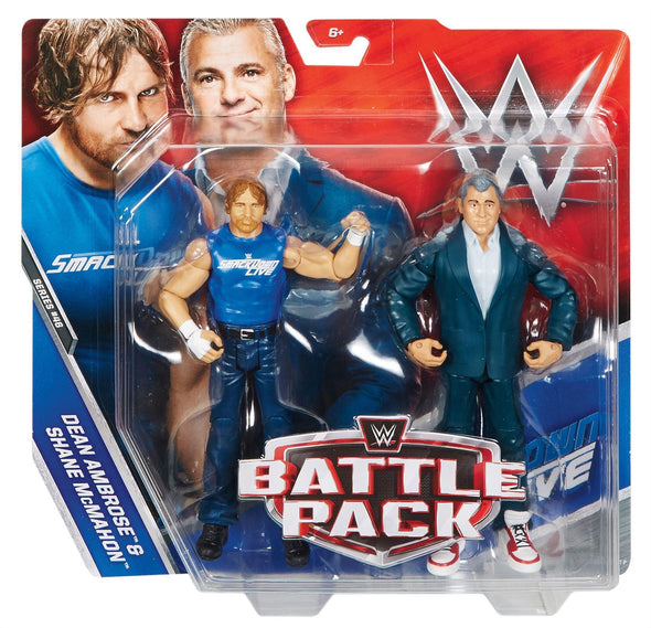WWE Battle Pack Series 46 - Dean Ambrose & Shane McMahon