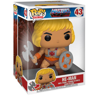 "POP Retro Toys - Masters of the Universe He-Man 10"" Pop! Vinyl Figure"