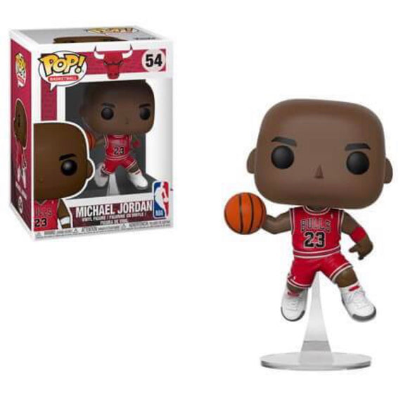 NBA - Bulls Michael Jordan (Red Jersey) Pop! Vinyl Figure
