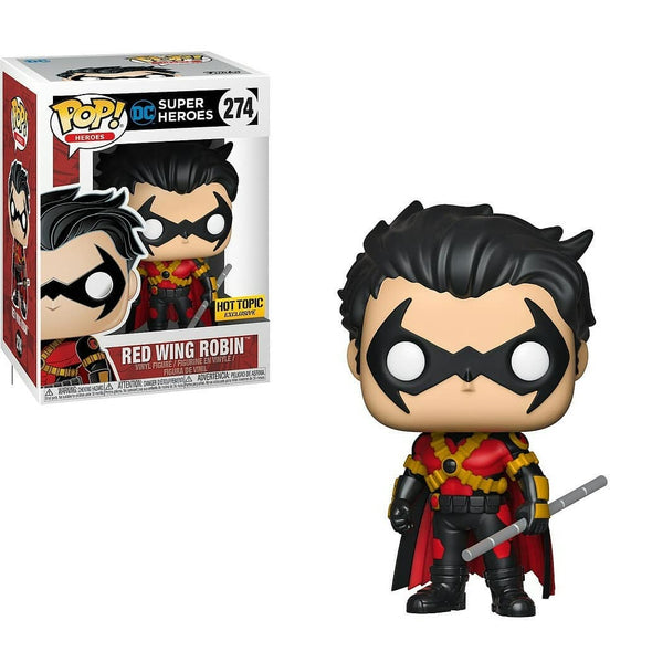 DC Universe - Red Wing Robin Exclusive Pop! Vinyl Figure