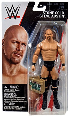 WWE Series 79 - Stone Cold Steve Austin with MITB Case