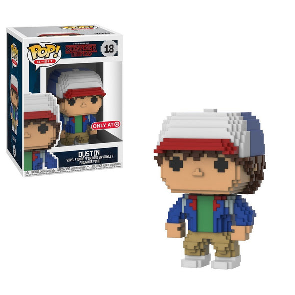 8-Bit - Stranger Things Dustin Exclusive Pop! Vinyl Figure