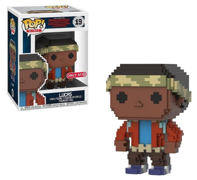 8-Bit - Stranger Things Lucas Exclusive Pop! Vinyl Figure