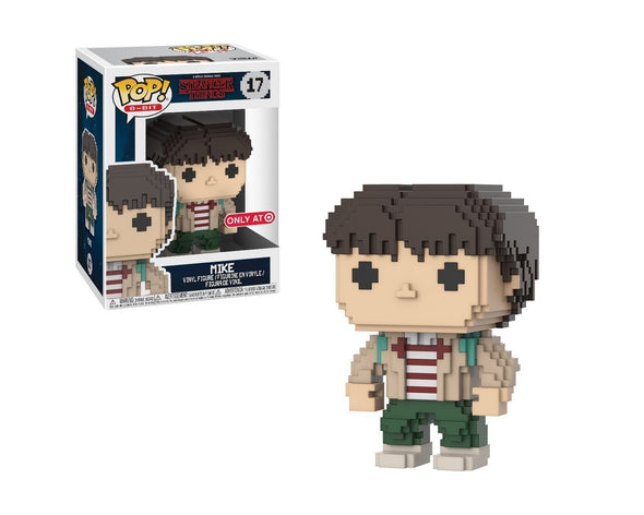 8-Bit - Stranger Things Mike Exclusive Pop! Vinyl Figure