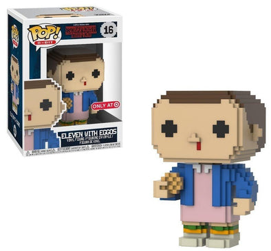 8-Bit - Stranger Things Eleven with Eggos Exclusive Pop! Vinyl Figure