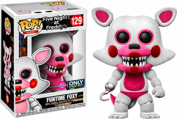 Five Nights At Freddy's - Funtime Foxy Flocked Exclusive POP! Vinyl Figure