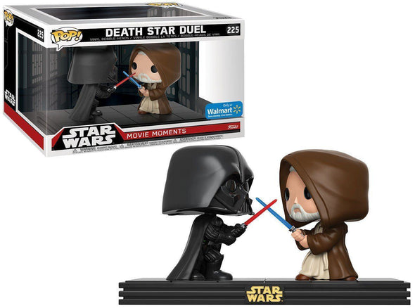 Star Wars: Movie Moments - Death Star Duel Exclusive Pop Vinyl Bobble Heads