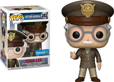 Captain America: The First Avenger - Stan Lee Exclusive Pop! Vinyl Figure