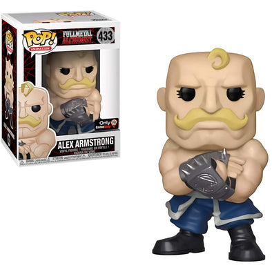 Full Metal Alchemist - Alex Armstrong Exclusive Pop! Vinyl Figure