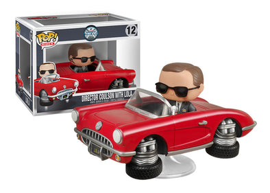 Agents of S.H.I.E.L.D. Director Coulson with Lola Pop! Vinyl Vehicle