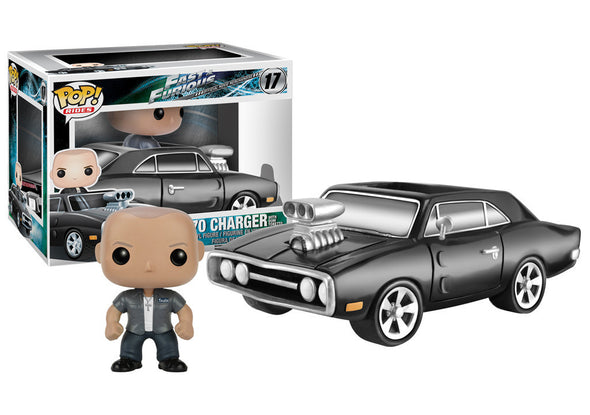 Fast & Furious 1970 Charger with Dominic Pop! Ride