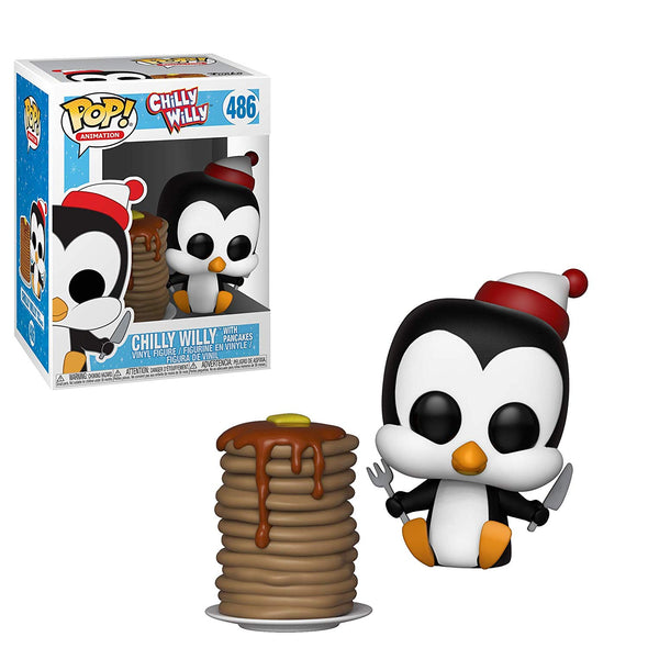 Woody Woodpecker - Chilly Willy (w/ Pancakes) POP! Vinyl Figure