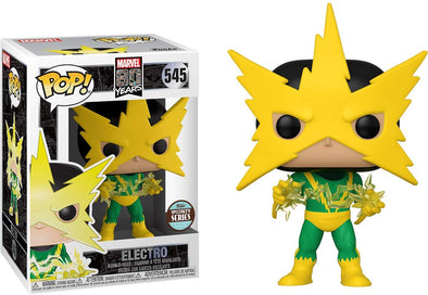 Marvel 80th - Electro (First Appearance) Specialty Series Exclusive Pop! Vinyl Figure