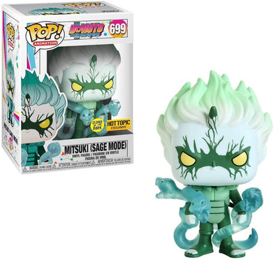 Boruto: Naruto Next Gen - Mitsuki (Sage Mode) Glow-In-The-Dark Exclusive POP! Vinyl Figure