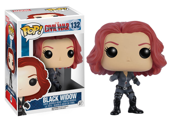 Marvel Civil War Black Widow Pop! Vinyl Figure