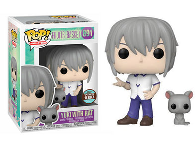 Fruits Basket - Yuki Sohma w/ Rat Specialty Series Exclusive Pop! Vinyl Figure