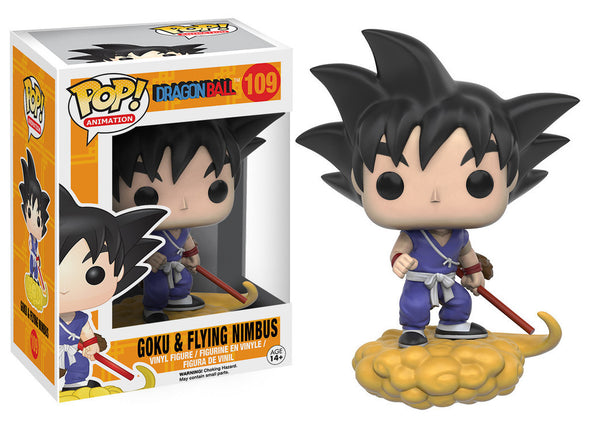 Dragonball - Goku & Flying Nimbus Pop! Vinyl Figure