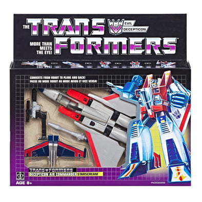 Transformers 2018 G1 Reissue - Starscream