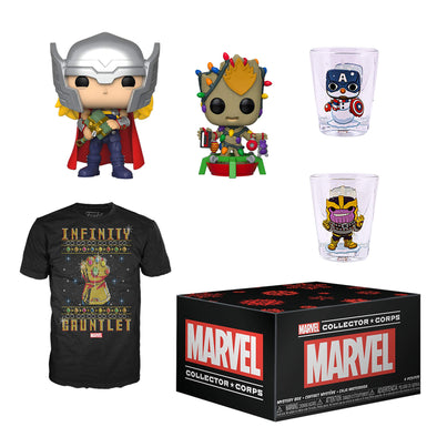 Marvel Collector Corps - Holiday 2019 Subscription Box