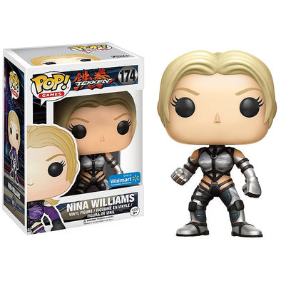 Tekken - Nina Williams (Silver Suit) Exclusive POP! Vinyl Figure