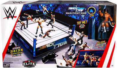 WWE - SmackDown Live Elite Main Event Scale Ring (/w Jinder Mahal)