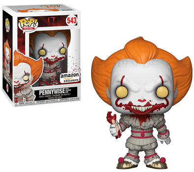 IT The Movie (2017) - Pennywise with Severed Arm Exclusive Pop! Vinyl Figure