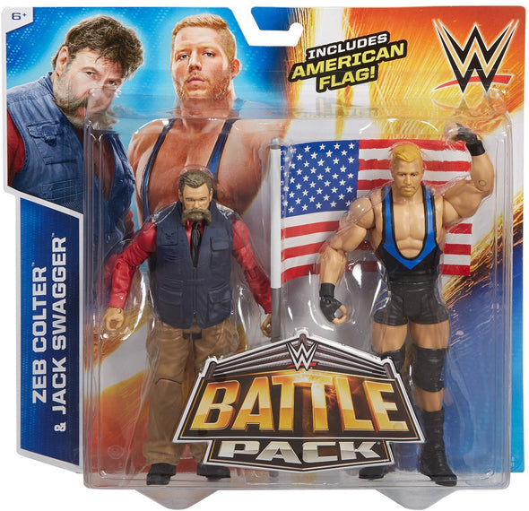 WWE Battle Pack - Jack Swagger and Zeb Colter