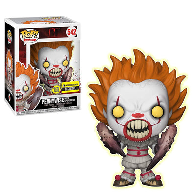 IT The Movie (2017) - Pennywise with Spider Legs (GITD) Exclusive Pop! Vinyl Figure