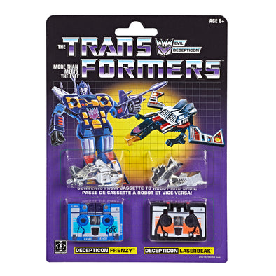 Transformers 2019 G1 Reissue - Frenzy & Laserbeak