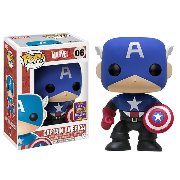 SDCC 2017 - Captain America (Bucky) Exclusive Pop! Vinyl Figure