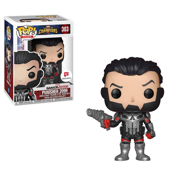 Marvel Contest of Champions - Punisher 2099 Exclusive POP! Vinyl Figure
