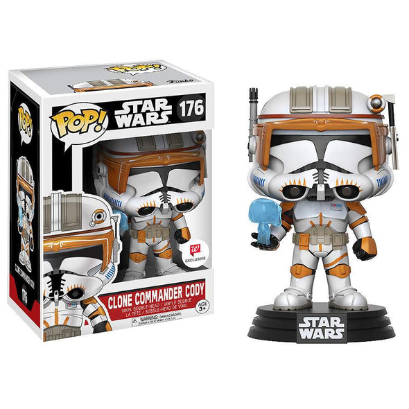 Star Wars: The Clone Wars - Clone Commander Cody Exclusive Pop Vinyl Bobble Head Figure