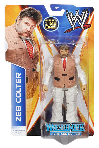 WWE Series 37 - Zeb Colter