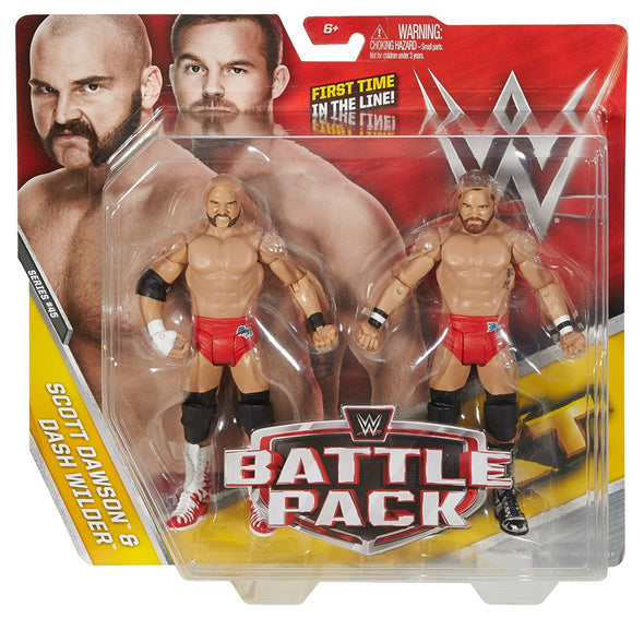 WWE Battle Pack - Scott Dawson & Dash Wilder (The Revival)