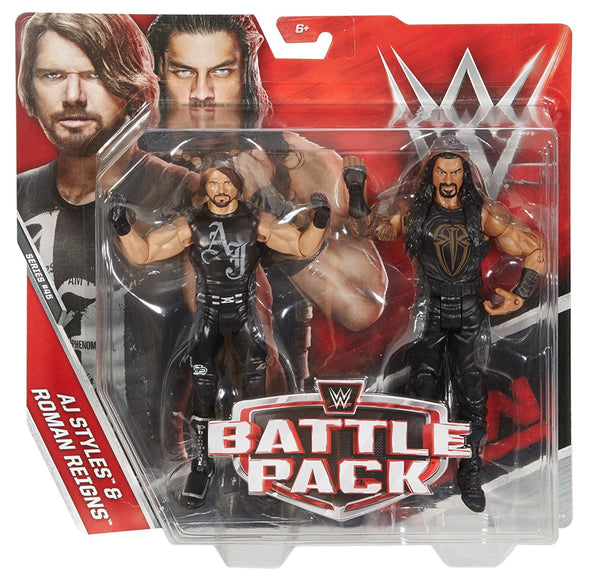 WWE Battle Pack Series 45 - AJ Styles and Roman Reigns