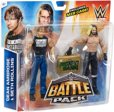WWE Battle Pack - Seth Rollins and Dean Ambrose (MITB)