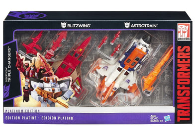 Platinum Edition G1 Triple Changers 2-Pack