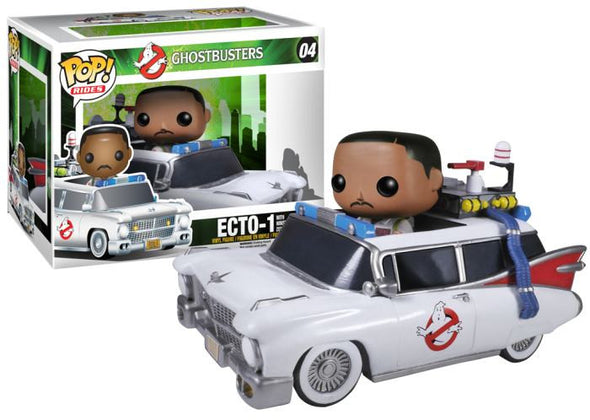Ghostbusters Ecto-1 with Winston Zeddemore Pop! Vinyl Vehicle