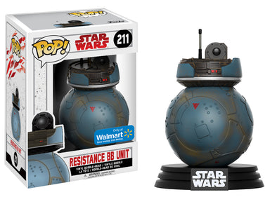 Star Wars: Last Jedi - Resistance BB Unit Exclusive Pop Vinyl Bobble Head