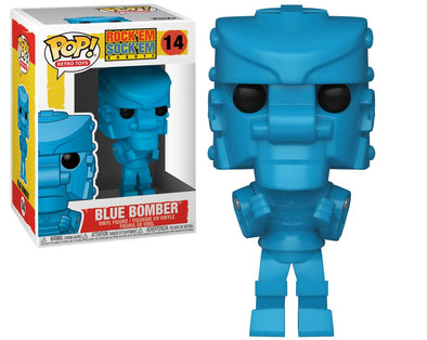 Retro Toys - Rock Em Sock Em Robot Blue Bomber Pop! Vinyl Figure
