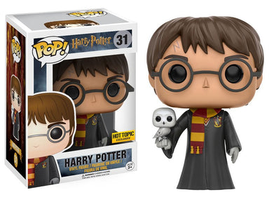 Harry Potter - Harry Potter with Hedwig Exclusive Pop! Vinyl Figure