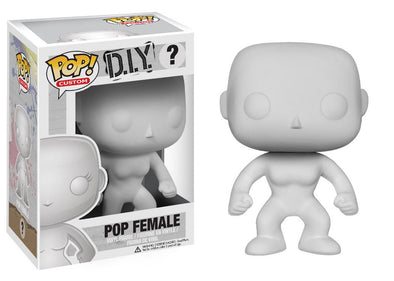 DIY Female Blank POP! Vinyl Figure