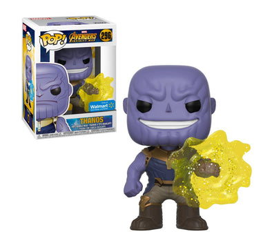 Avengers Infinity War - Thanos (Yellow Aura) Exclusive Pop! Vinyl Figure