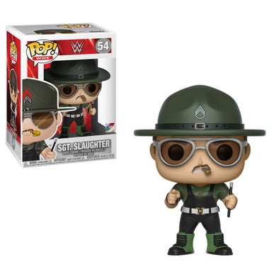 WWE - Sgt. Slaughter Pop! Vinyl Figure
