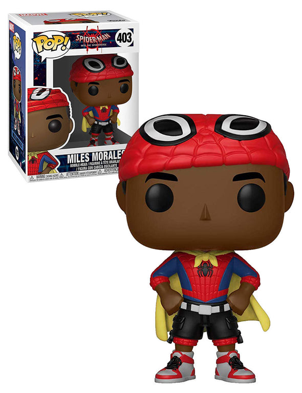 Animated Spider-Man - Miles (w/ Cape) POP! Vinyl