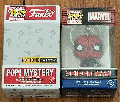 Marvel Spider-Man Exclusive Pocket Pop! Keychain