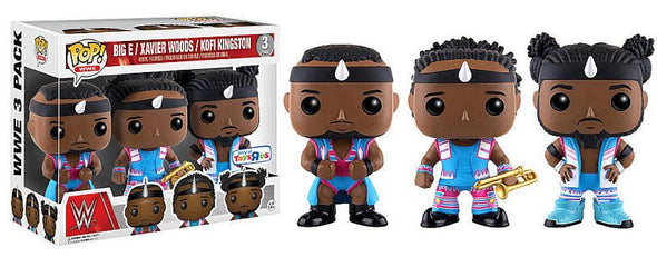 WWE - The New Day Exclusive 3-Pack Pop! Vinyl Figures